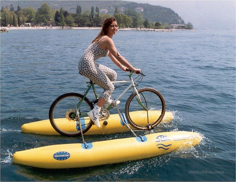 Своими руками катамаран с велосипеда