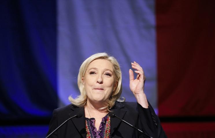 марин ле пен, выборы во франции, нацфронт