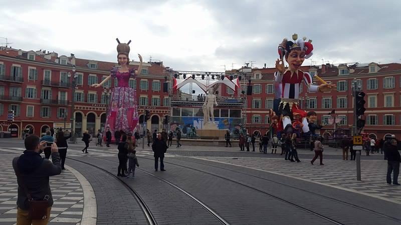 карнавал в ницце 2017, карнавал во франции