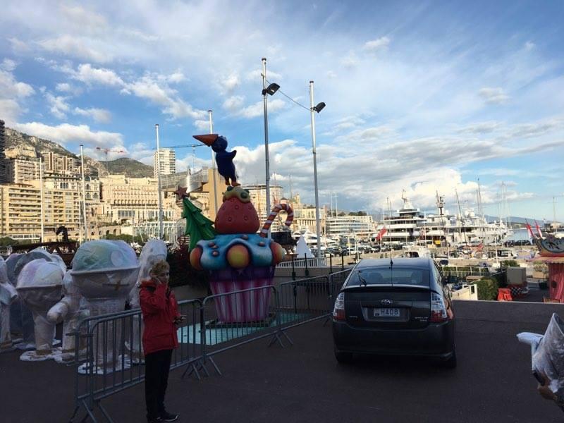 рождество в монако