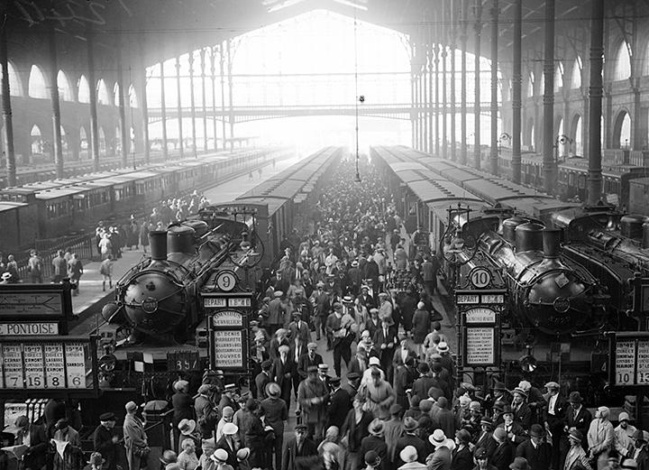 эмигранты во франции 1917