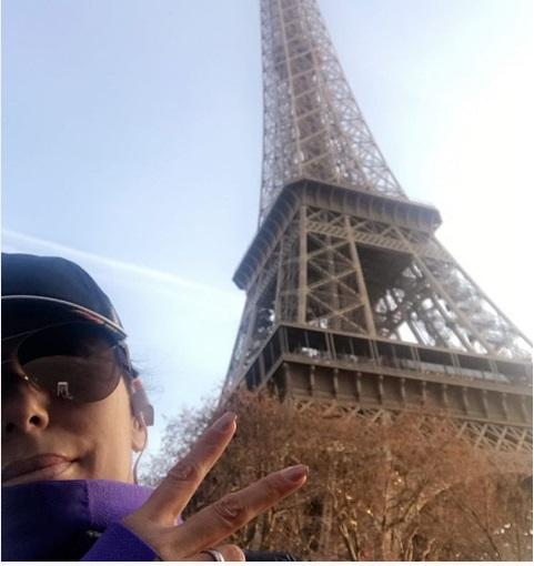 Новости Франции - Эва Лонгория в Париже