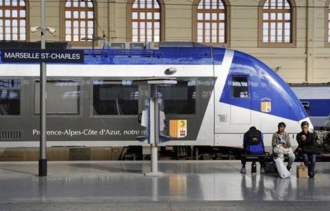 железнодорожный транспорт ниццы, поезд в канны