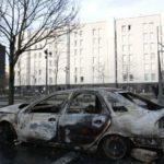 Беспорядки в Париже, задержано 17 человек