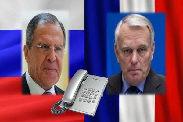 Лавров иЭйро провели телефонные переговоры