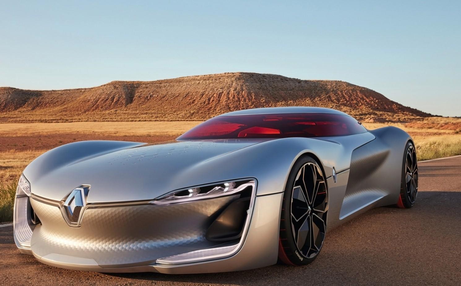 Дизайн прототипа Рено Тrezor признан лучшим вследующем году