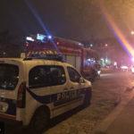 полицейские В Париже арестовано 35 человек