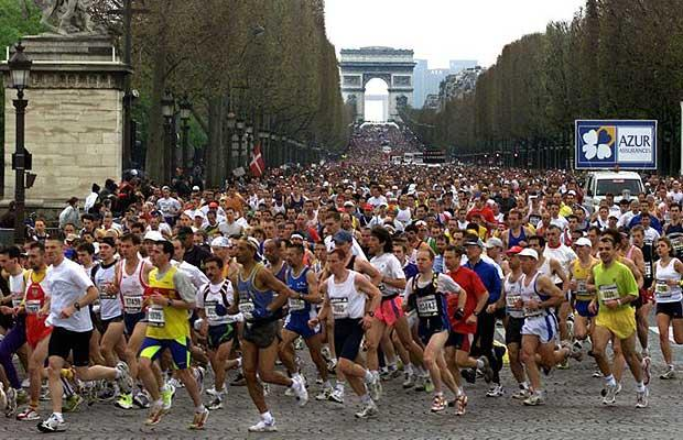 марафон в париже 2017