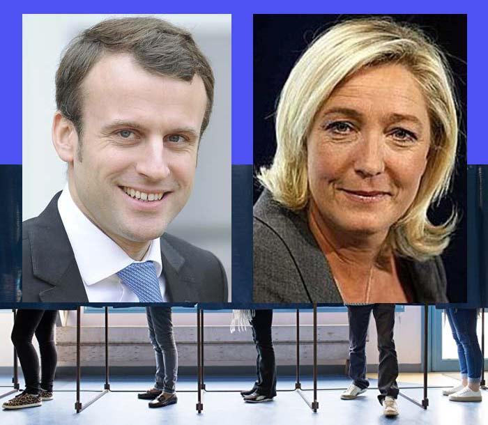 Окончательные итоги 1 тура выборов президента Франции