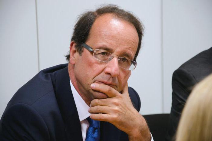 Французы оценили работу Франсуа Олланда