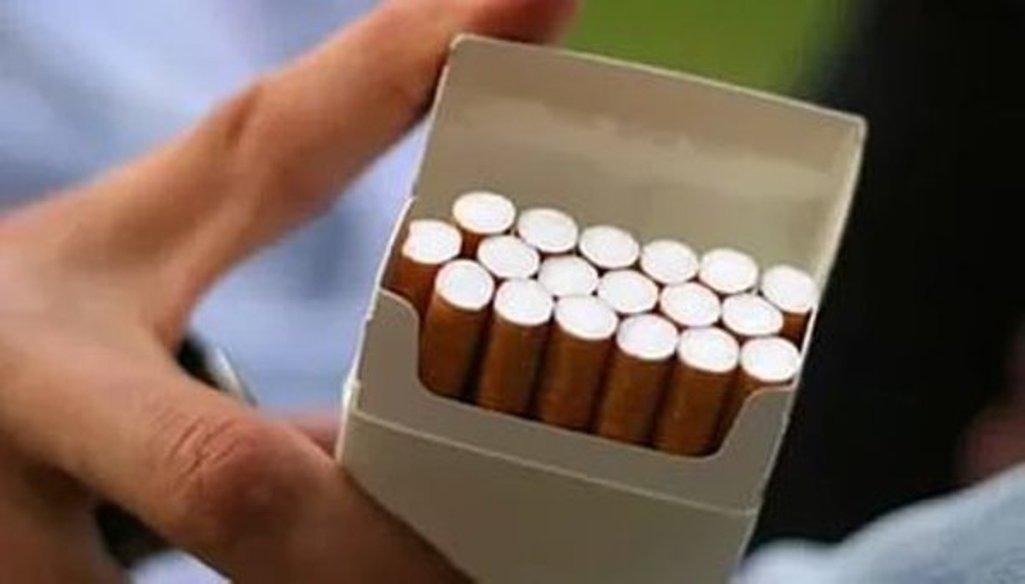 Новые пачки увеличили спрос на сигареты во Франции