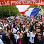В Париже прошел марш против Народного Фронта, переросший в стычки с полицией
