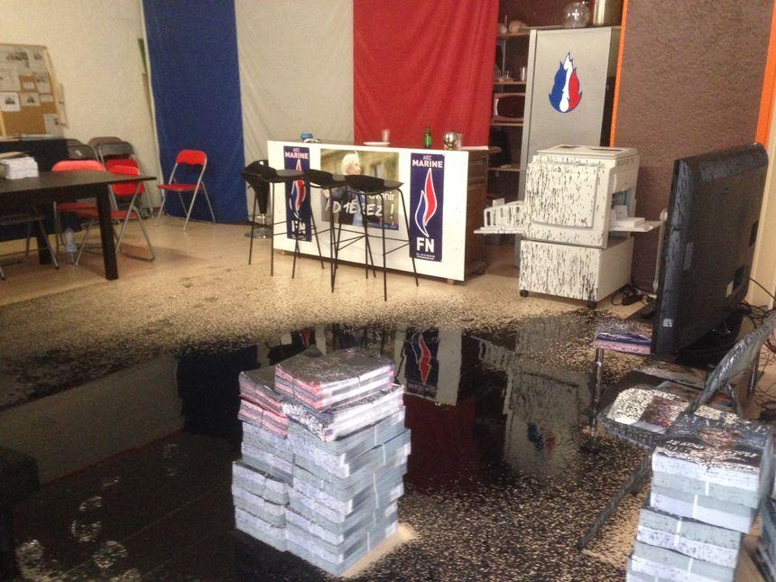 В Валансе совершено нападение на штаб НФ