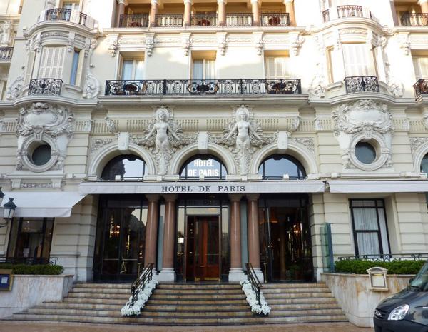Отель Hôtel de Paris, Монако
