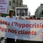 Марш проституток прошел в центре Парижа