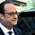 Олланд призывает голосовать за Макрона