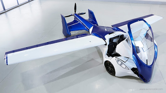 После 25 лет разработок вМонако представили 1-ый  летающий автомобиль