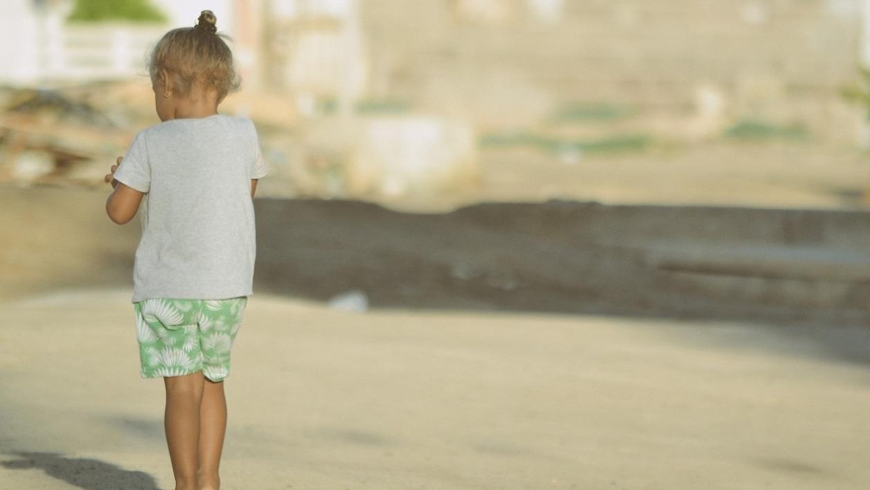 Четырехлетняя француженка убежала из дома к возлюбленному