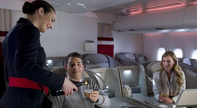 Air France предложит на своих рейсах коктейли отеля Ritz