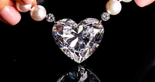 За $15 миллионов в Женеве продали уникальный бриллиант