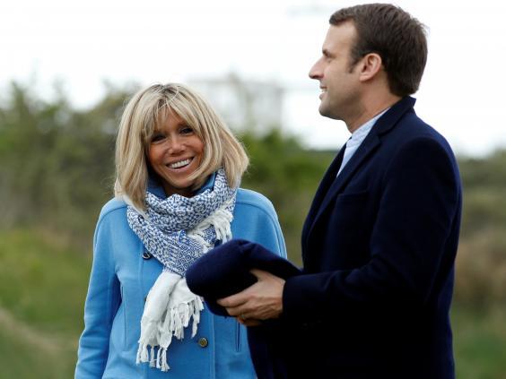 Жена Макрона, как муза будущего президента Франции