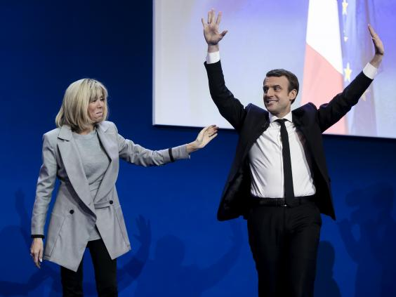 Брижит Макрон-Тронью, как муза будущего президента Франции
