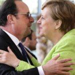 Ангела Меркель дала прощальный ужин в честь Франсуа Олланда