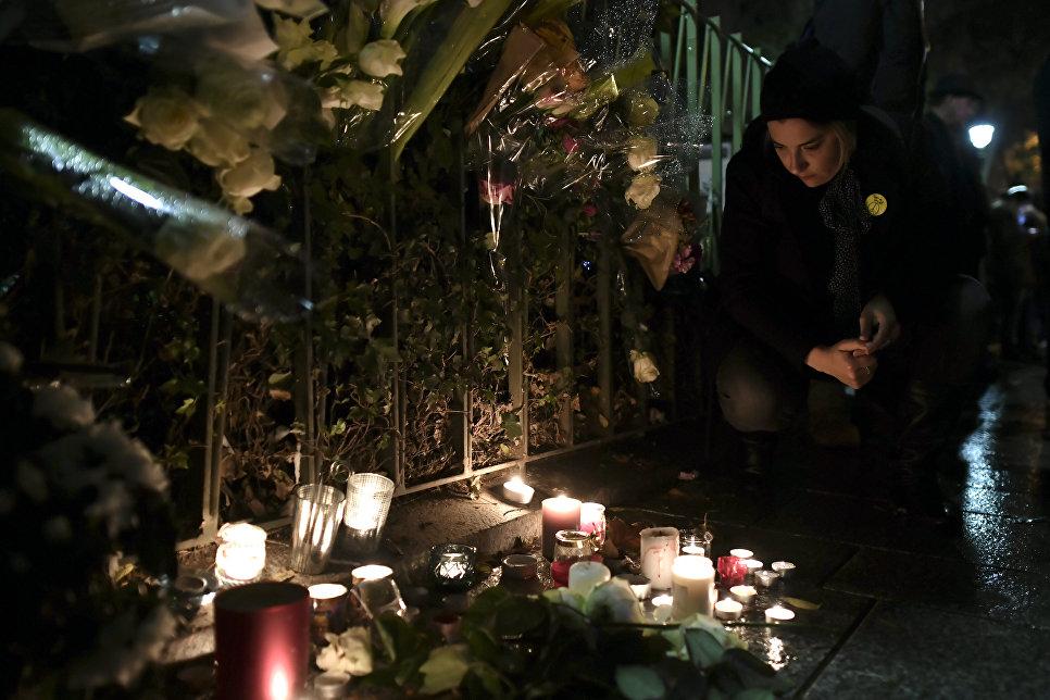 """Француженка сочеталась посмертным браком с погибшим в """"Батаклане"""""""