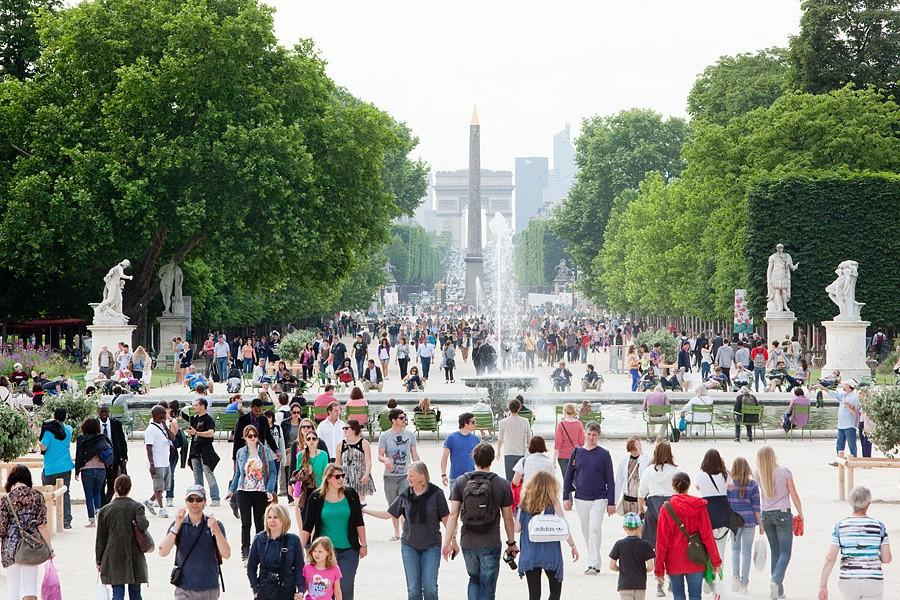 Годовая выручка Франции от туризма снизилась