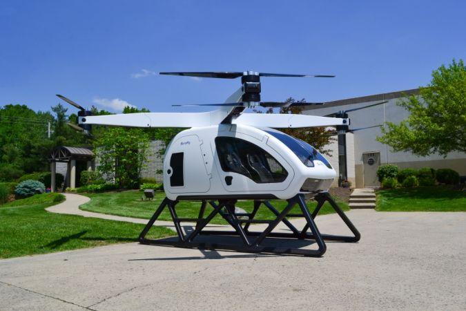электрический вертолёт SureFly