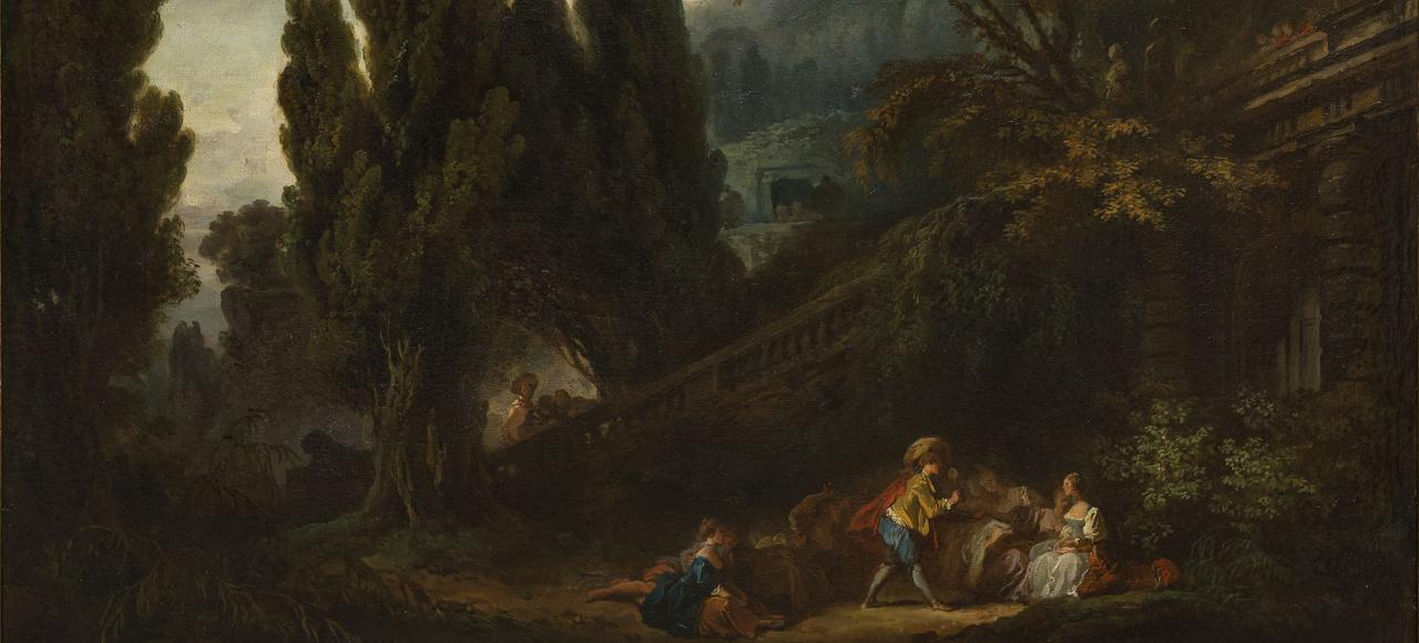 Во Франции нашли картины Фрагонара утерянные в 1786 году