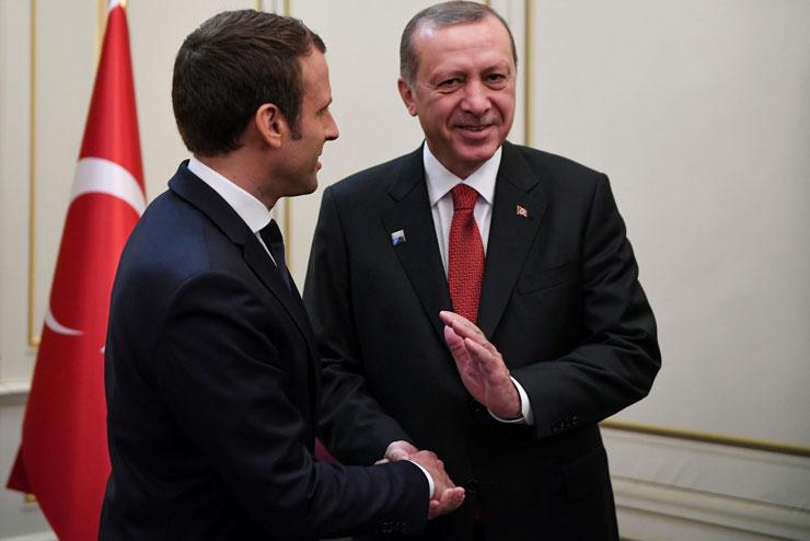 Макрон призвал Эрдогана освободить гражданина Франции