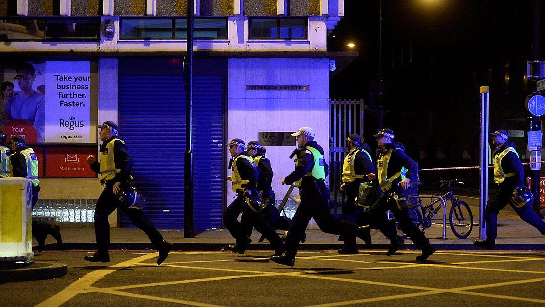 пострадали во время теракта в Лондоне