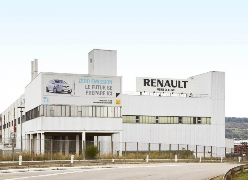 Завод Renault во Франции заблокирован