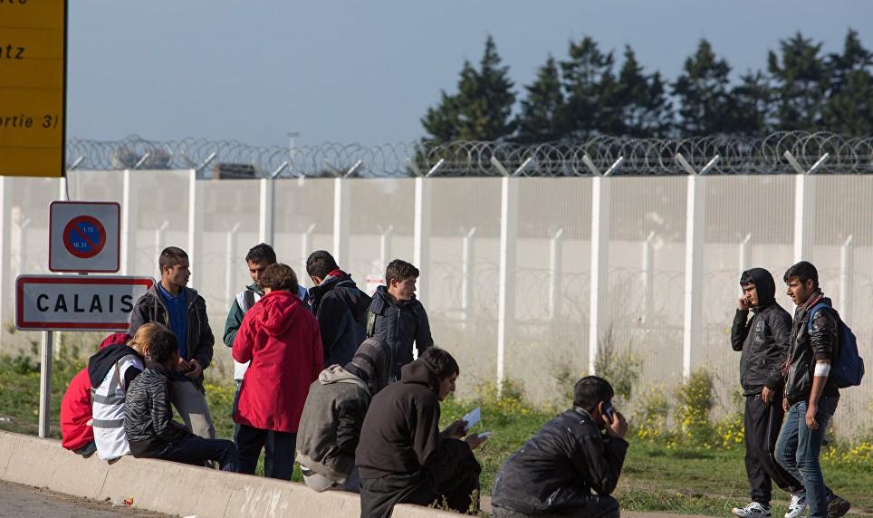 Во Франции пресекли попытку перебросить мигрантов