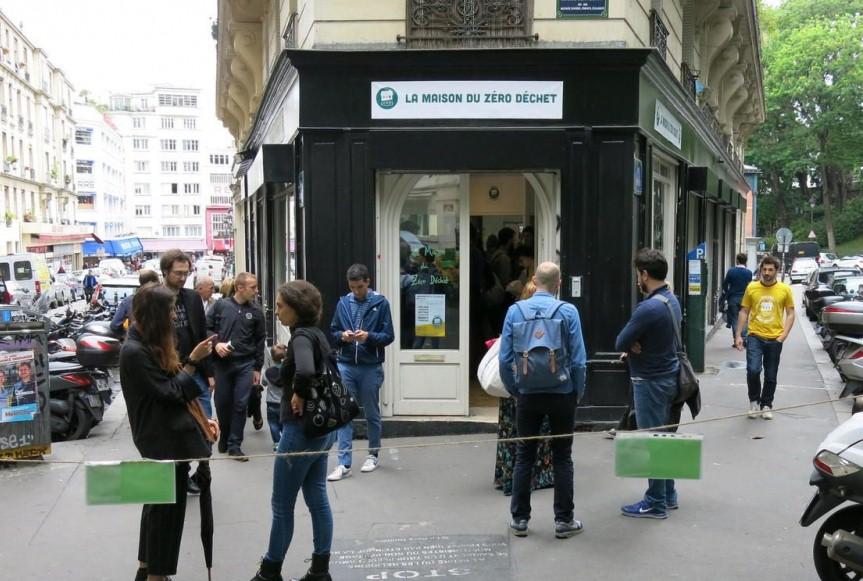 «Дом с 0% отходов» появился в столице Франции