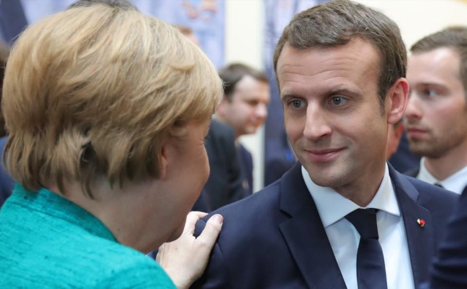 Макрон обвинил Германию в получении выгоды