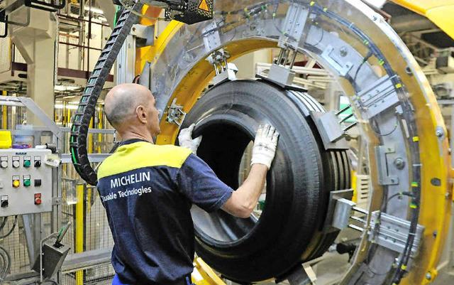 Michelin сократит количество сотрудников