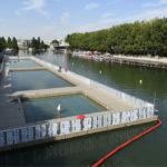 Бесплатные городские бассейны открыли в Париже