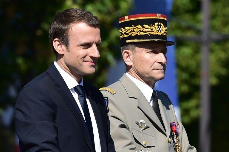 Разногласия Макрона и де Вилье привели к отставке