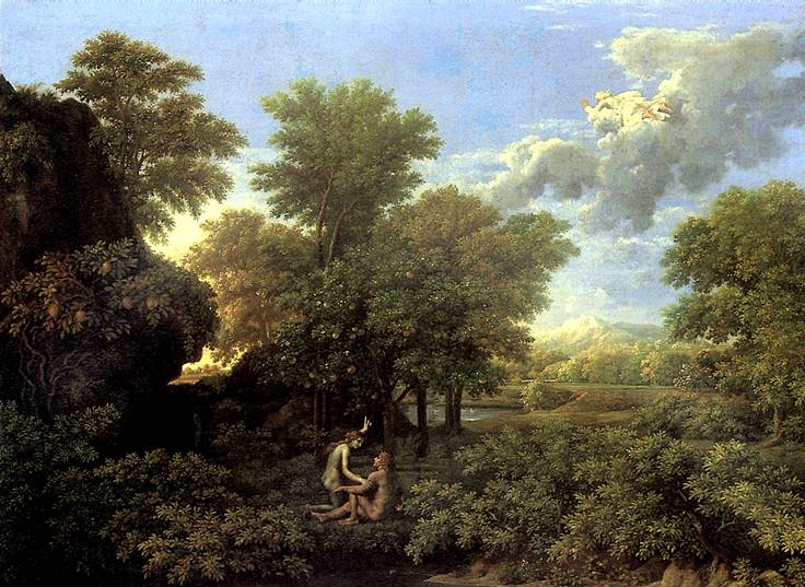 Ливень испортил три шедевра из коллекции Лувра