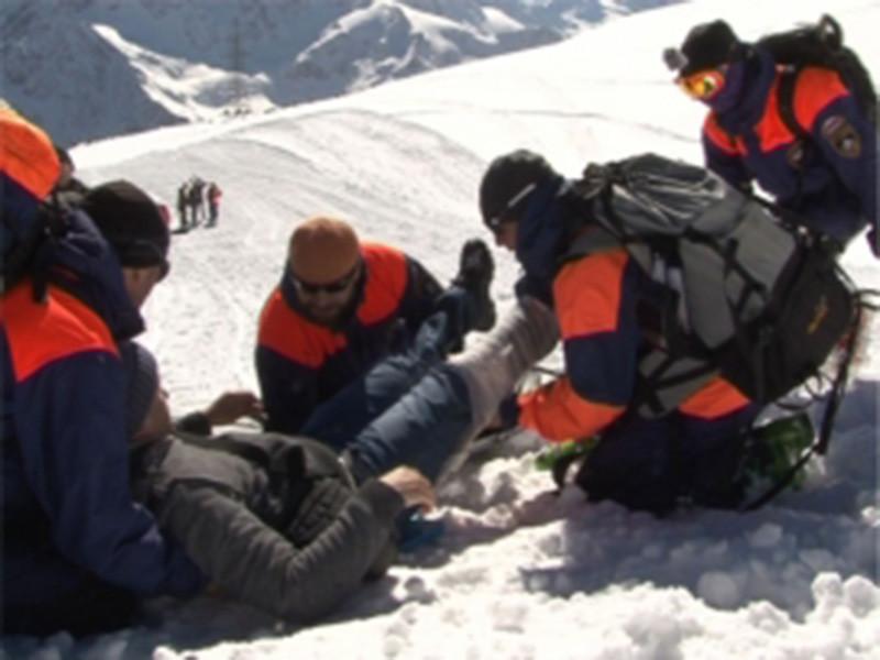 Альпиниста из Франции спасли сотрудники Росгвардии