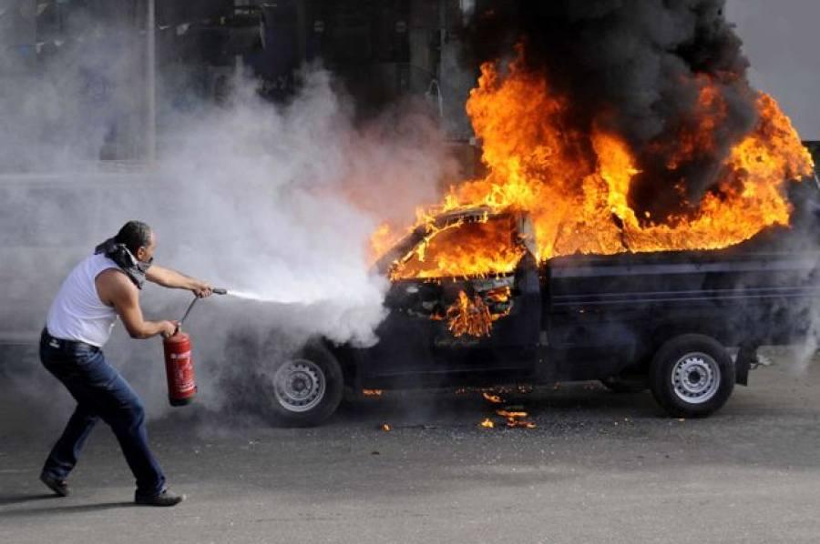 Французская полиция задержала пожарного