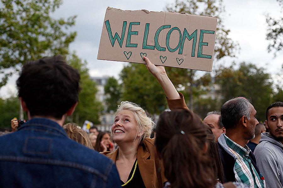 Францию и Германию ждёт новый наплыв беженцев