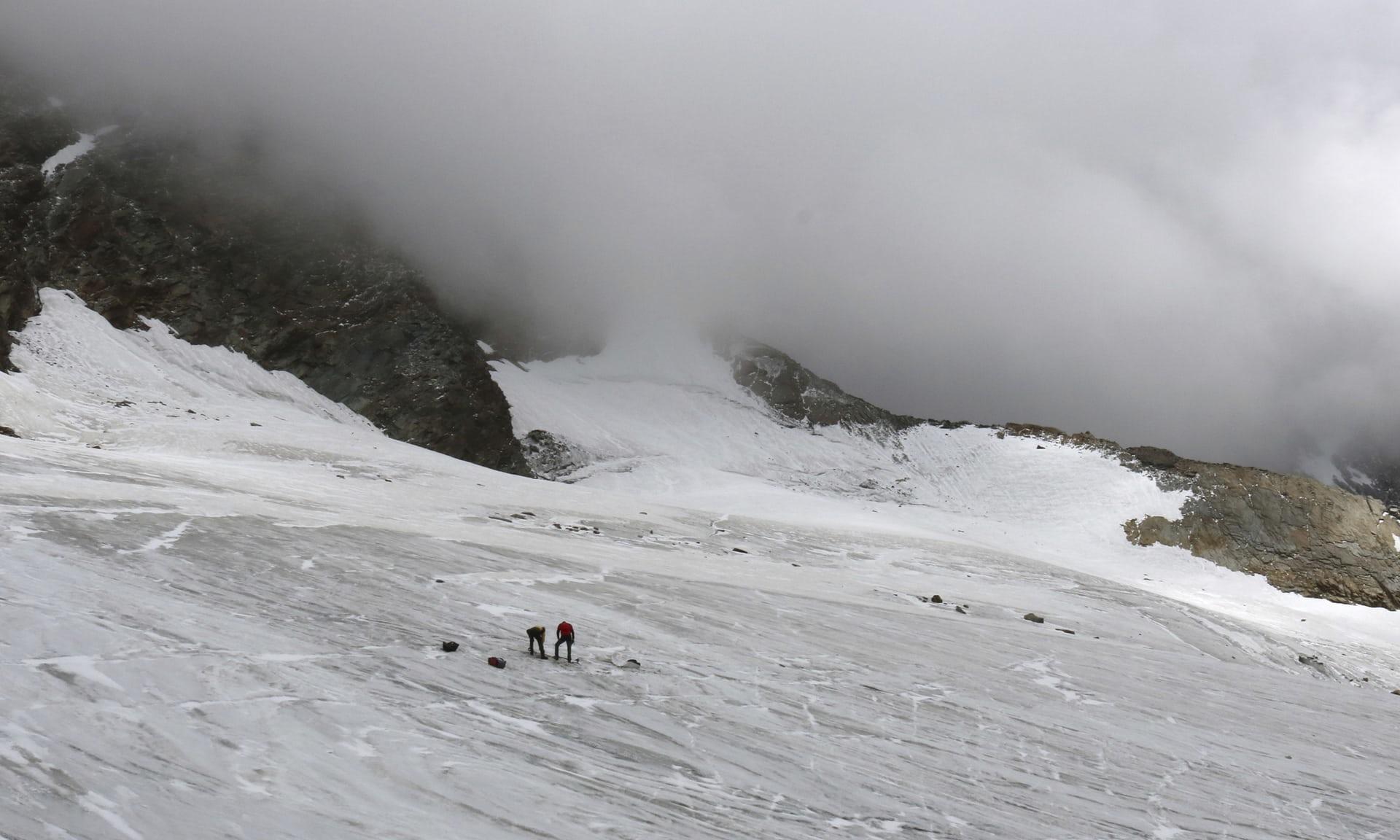 Сотни мумифицированных тел появятся в Альпах
