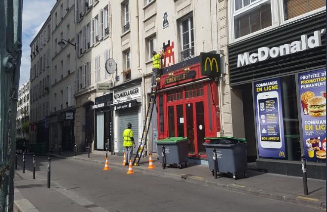 На похитителей работ Space Invader мэрия Парижа подаст в суд