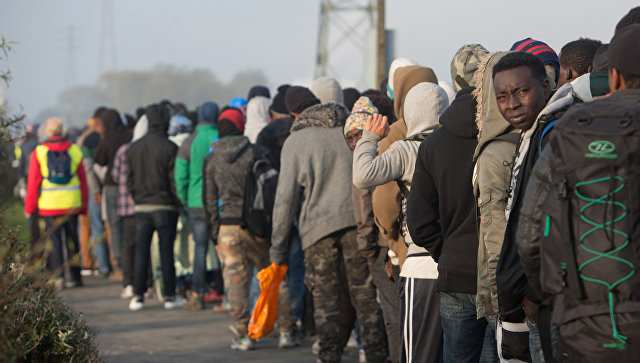 Во Франции эвакуирован лагерь мигрантов