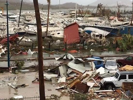 Шесть граждан Франции стали жертвами урагана «Ирма»