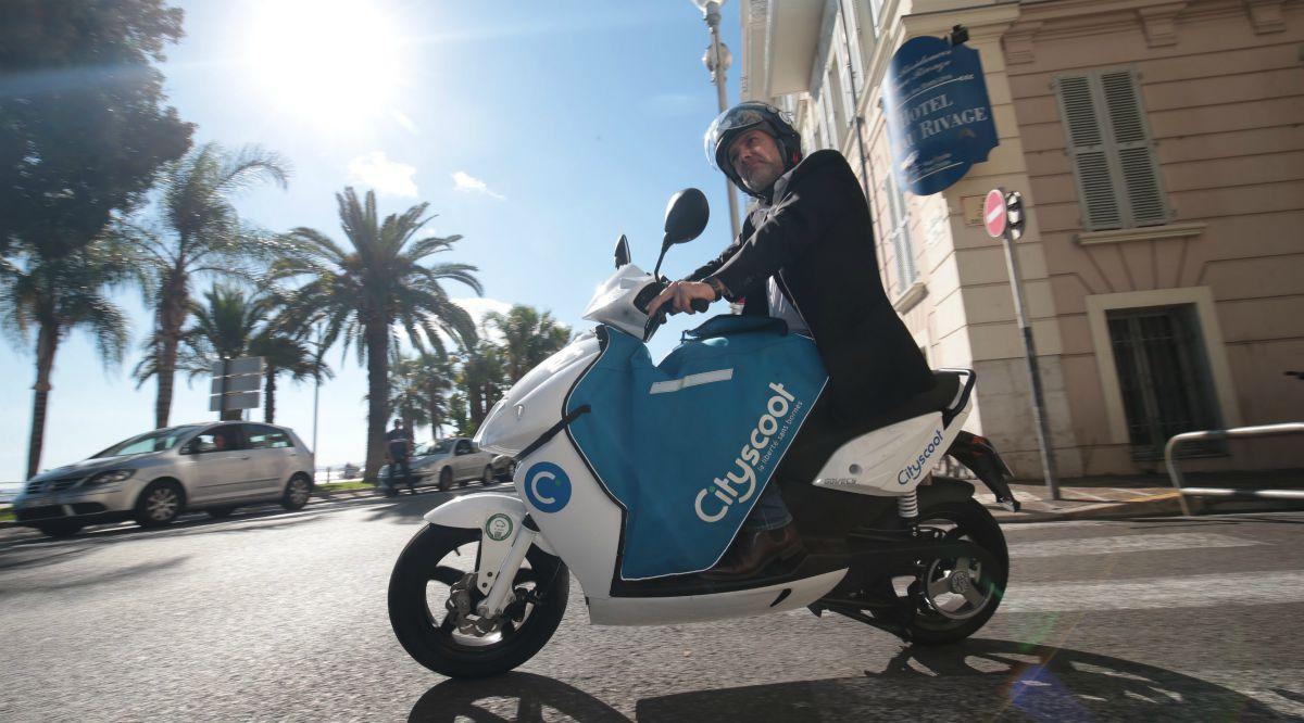 Аренда электрических скутеров в Ницце | SLON
