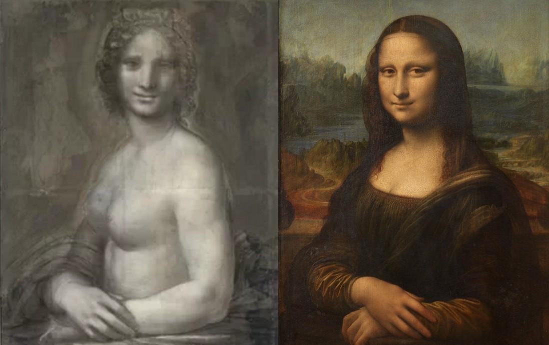 Во Франции найден эскиз обнаженной Моны Лизы